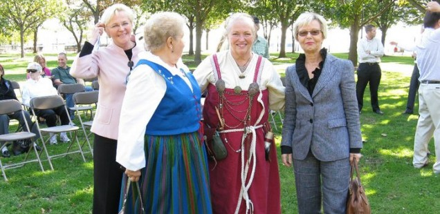 Leif Erickson Day Finnish dresses